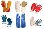 Средства защиты рук (перчатки и рукавицы)  оптом