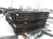 Оптовая продажа шпал деревянных бу