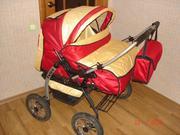 Продаётся коляска для двойни,  трансформер,  производства Польша.