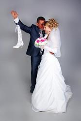 Продаётся миниатюрное свадебное платье